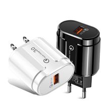 Mobile-Phone-Charger-Adapter Usb-Charger iPhone QC3.0 Galaxy for S9/S8 Eu-Us-Wall