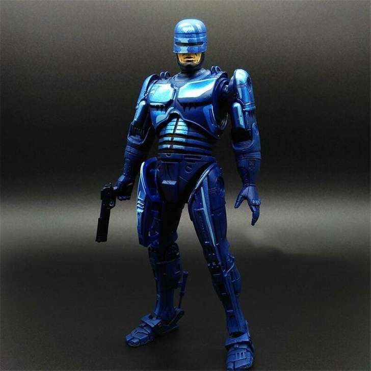The 8inch NECA 1989 Robocop Game Version Robocop Murphy Limited Edition Collection Action Figure