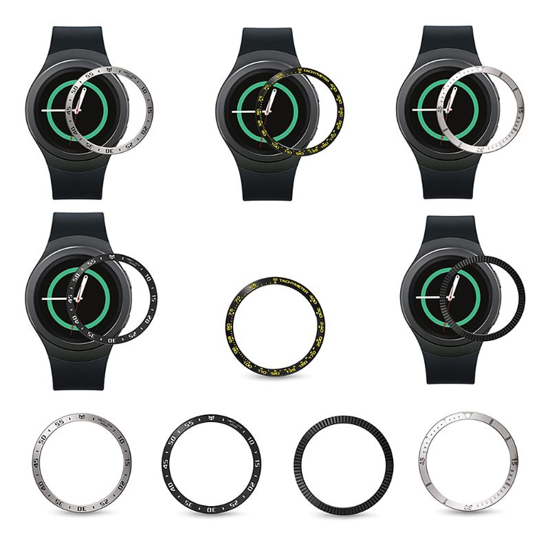 Anti Scratch Metal Bezel Ring Adhesive Cover Replacementfor Samsung Galaxy Watch Active/Gear Sport 42MM Accessories Pakistan