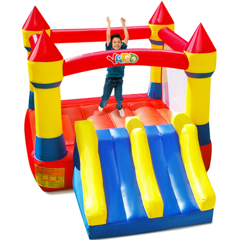 YARD Inflatable Bouncer Kids Jump Bouncer Inflatable Bounce house  Castle Climbing Jumping Castle With Dual Slide Include Blower yard inflatable bounce house kids funny bouncy castle 3 5x3x2 7m with slide pvc inflatable games children jumping bouncer house