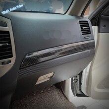 seahorse car front bumper grill chrome trim molding decorative cover for mitsubishi pajero montero v93 v97 v98 2015 2016 2017 Lapetus Auto Styling Dashboard Instrument Panel Cover Trim Fit For Mitsubishi Pajero V97 V93 V80 Montero Limited 2009 - 2020
