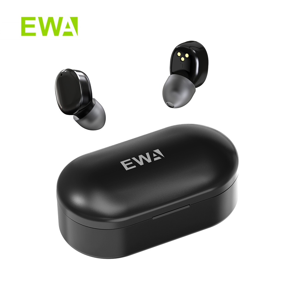 EWA T300 Bauhaus StyleTWS Earbud Bluetooth 5 0 In-Ear HD Stereo Wireless Earphones with Mic waterproof earbuds free shipping