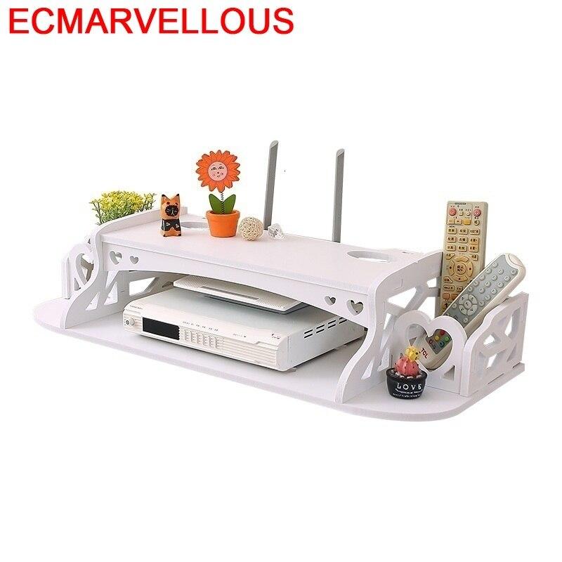 Décoration routeur sans fil salon blindage créatif meuble de rangement TV ensemble-cintre prise couverture étagère support piles