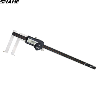 shahe 15-300 mm digital inside groove with knife edge micrometro digitale vernier caliper 300mm