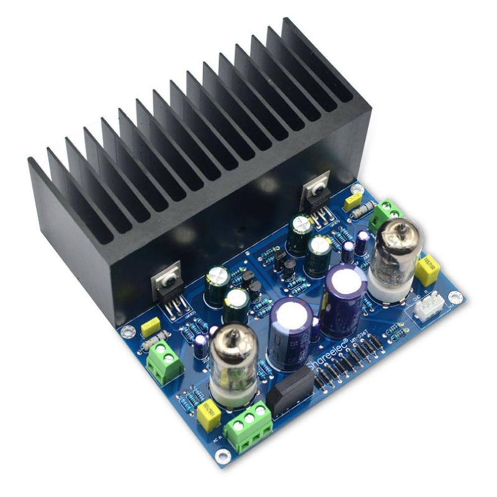 Hifi Vacuum Tube Amplifier Plate Electronic Valve Amplifier 6J1 + LM1875 Amplifier AC18V Diy Kit and Finished Product|Battery Accessories| |  - title=