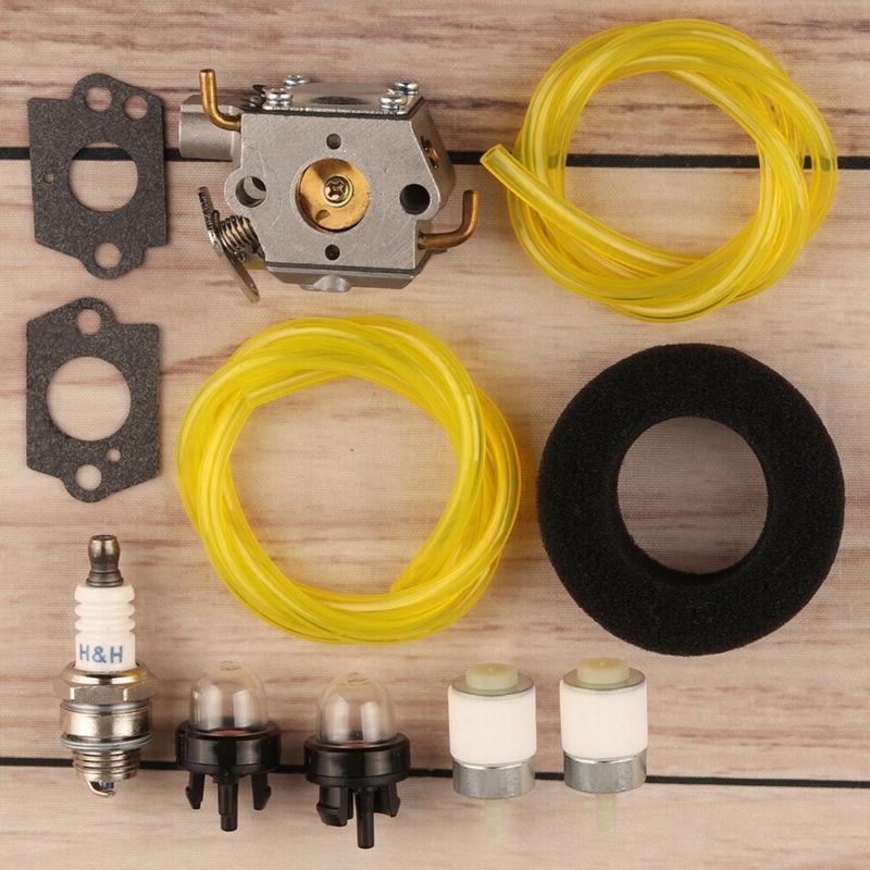 Carburetor Air Filter Kit For Ryobi 410R 280R 310BVR 700R 704R 720R Trimmer High Quality Tool Parts Accessories