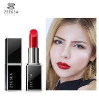 Zeesea Red Nourish Matte Lipstick Set Make-Up For Women Easy To Color Lasting  Waterproof Lip Gloss Cosmetics Beauty Makeup 3.8g