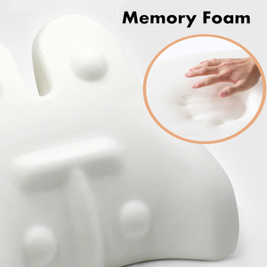 Image 5 - PurenLatex Memory Foam Waist Lumbar Side Support Pillow Spine Coccyx Protect Orthopedic Car Seat Office Sofa Chair Back Cushion