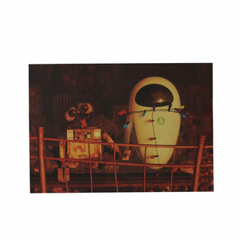Cute Robot Movie Posters And Prints Kraft Paper Living Bedroom Bar Kindergarten Coffee Room Poster Stickers Creative Decor Boy image