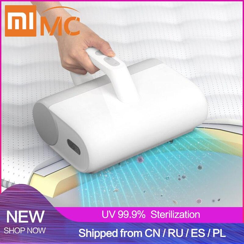 Xiaomi MIJIA, беспроводной УФ пылесос для клещей, домашний пылесос для кровати, ручной 16000 Pa, маленькая ультразвуковая машина для чистки клещей