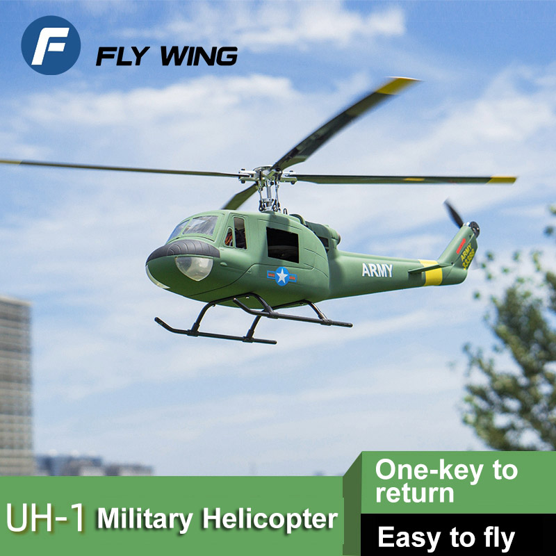 UH-1-iroquois-Helicopter 6 CH Scale Helicopter One key to return