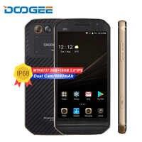 DOOGEE S30 4G LTE teléfono móvil 5,0 Octa Core 2GB RAM 16GB ROM Android 7,0 de 5580mAh cámara Dual IP68 impermeable de huellas dactilares