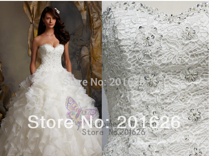 Casamento Vestido De Noiva 2018 New Fashionable Sexy Ruffles Ball Gown Crystal Bridal Gown Organza Mother Of The Bride Dresses