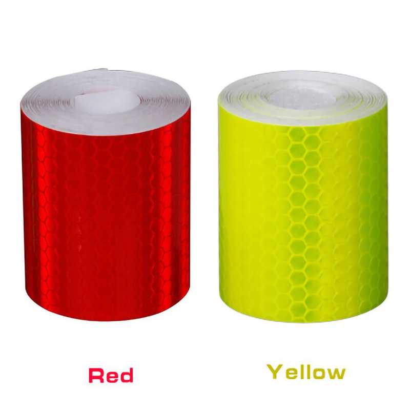 5cmx3m Cycling Reflective Waterproof Tape Bicycle Stickers Adhesive Tape Bike Night Safety Warning Accessories