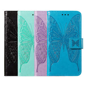 Case For Samsung A51 Luxury Embossing Leather Phone Cover For Samsung Galaxy A51 SM-A515F A515F A515 Magnetic Flip Wallet Cases