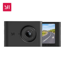 "YI Nightscape Dash Cam 1080p Smart Wi Fi Car Camera with Heat Resistant Super capacitor Night Vision 140° FOV 2.4""Screen Black"
