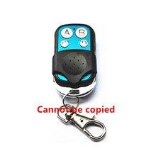 Mando a distancia RF para puerta de garaje, 433 mhz, código de aprendizaje, 1527 EV1527, interruptor de luz, receptor de 433 mhz con batería
