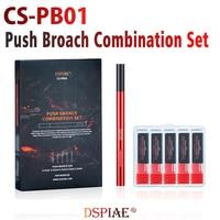 Dspiae CS-PB01 Push Broach Kombination Set Clamp Holding Griff + Push-Broach Modell Upgrade Hobby Zubehör