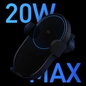 Image 3 - Xiaomi chargeur de voiture sans fil 20W Max électrique Auto pincement Qi charge rapide Mi chargeur de voiture sans fil pour Mi 9 iphone X XS Original