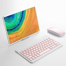 Teclado e Mouse Bluetooth Para Huawei MediaPad T3 T5 M2 M3 Lite 8.0 T10 T10S 10.1 M3 8.4 M5 M6 8.4 Matepad 10.4 Pro 10.8 ''Tablet