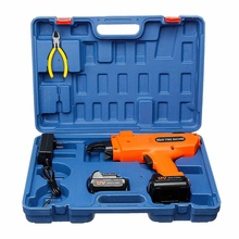 Automatic Rebar Tying Machine Rebar Tier Binding Machine Wire Knoting Cordless 2XRechargeable Lithium Battery Electric Tool 12V