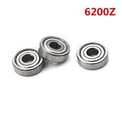 1Pc 6200Z Ball Bearing Double Shielded Deep Groove Ball Bearings 10mm*30mm*9mm