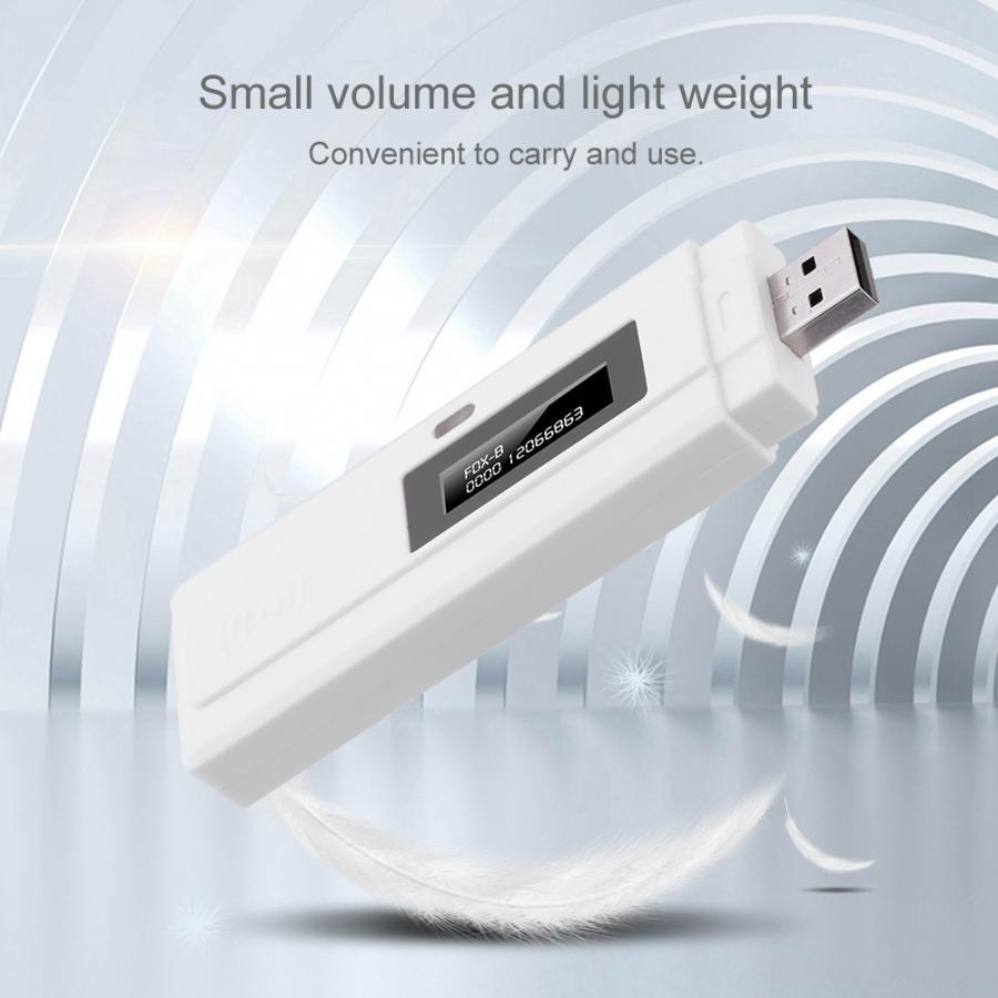 Lecteur d'identification de puce d'animal familier de Scanner d'animal familier RFID de Scanner de puce de FDX-B d'usb d'écran d'affichage Rechargeable d'iso11784/85 OLED en vente chaude
