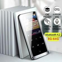 Портативный bluetooth MP3 плеер мини MP4 медиа беспроводной Bluetooth MP3 плеер HIFI спортивные музыкальные колонки FM радио рекордер r60