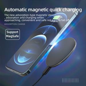 Image 3 - Essager – chargeur sans fil magnétique Qi 15W, pour iPhone 12 Pro Xs Max X, chargeur à Induction, charge rapide sans fil pour téléphone