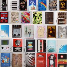 Custodia per passaporto da viaggio creativa borsa a portafoglio in PVC lettera uomo donna ID indirizzo titolare imbarco portatile accessori da viaggio