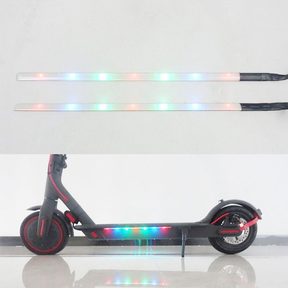 Professional Scooter Strip Light Colorful Night LED Light With Chassis For Millet M365/M365 Pro Electric Scooter Accessories
