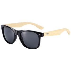 Image 4 - BARCUR бамбуковые солнцезащитные очки для мужчин и женщин, солнцезащитные очки для путешествий, винтажные деревянные очки для ног, модные солнцезащитные очки для мужчин