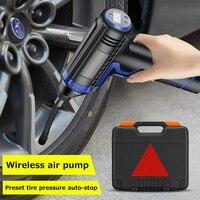 Protable compressor de ar do carro carregamento com fio handheld novo pneu inflator elétrico bomba ar inflator para motocicletas carros|Bomba inflável|Automóveis e motos -