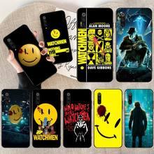 HPCHCJHM Watchmen poster Cover Soft Shell Phone Case for Xiaomi Mi10 10Pro 10 lite Mi9 9SE 8SE Pocophone F1 Mi8 Lite сумка printio хранители watchmen