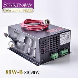 Startnow 80W-B CO2 90W zasilanie lasera 80W z portem sieciowym wysokiego napięcia PUS MYJG 110V 220V maszyna do laserowego cięcia i grawerowania