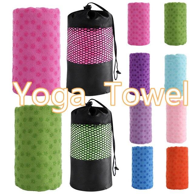 Sale Yoga Towel Non Slip Cotton Yoga Mat Microfiber Towel Blanket Sport Yoga Accessories Fitness Sweat Absorbing Towel D30