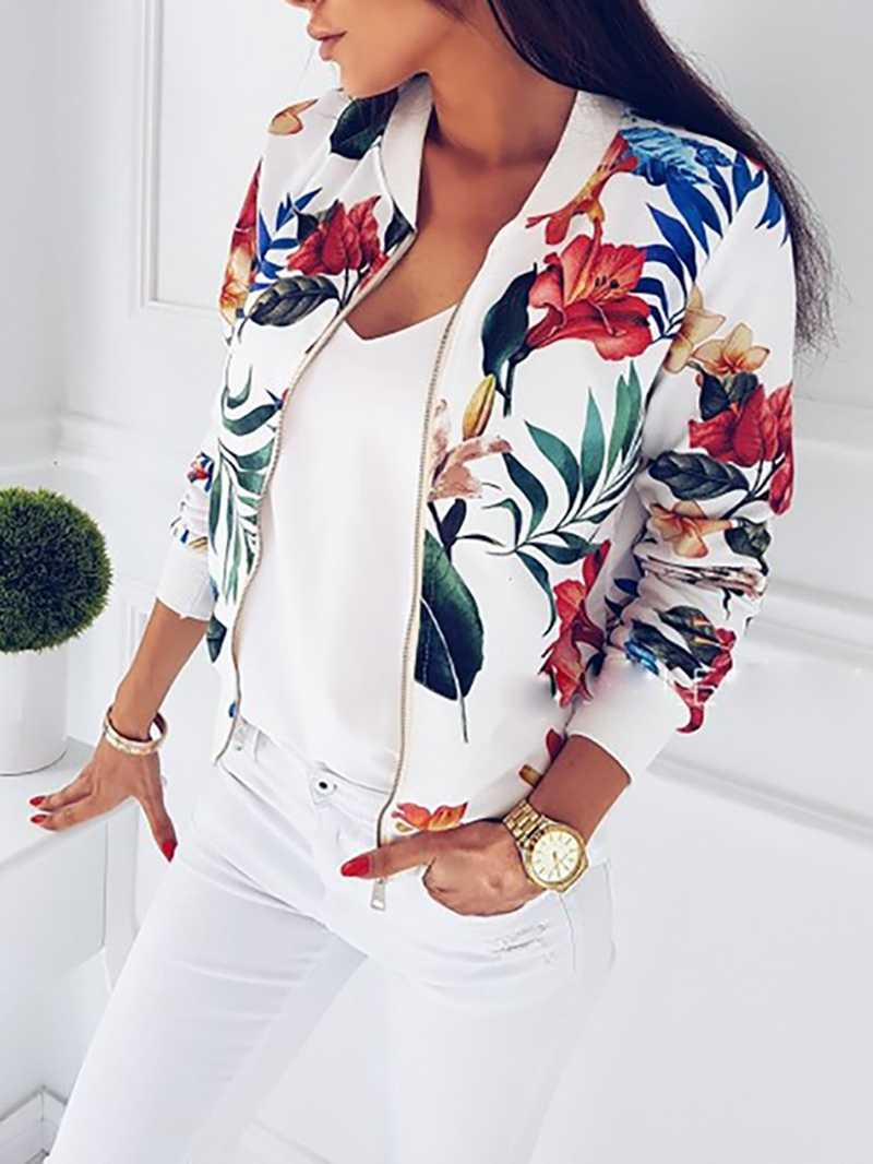 Весенне-осенняя женская тонкая куртка, укороченная куртка, приталенная верхняя одежда, тонкая уличная куртка на молнии с карманами, Женская ветровка, куртки