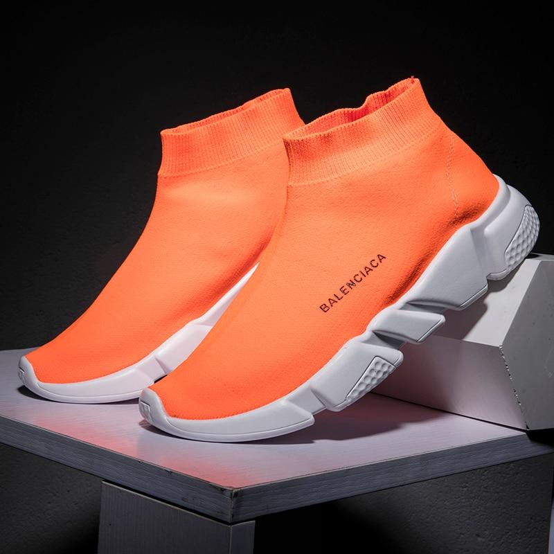 Дизайнерская мужская обувь; Носки; Кроссовки унисекс; Модная повседневная обувь для мужчин и влюбленных; Дышащий светильник; Удобная прогул...