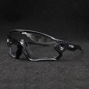 Image 5 - Hot Sale Clear Photochromic Cycling Sunglasses Sports Sunglasses Men Women MTB Road Bicycle Cycling Glasses Eyewear