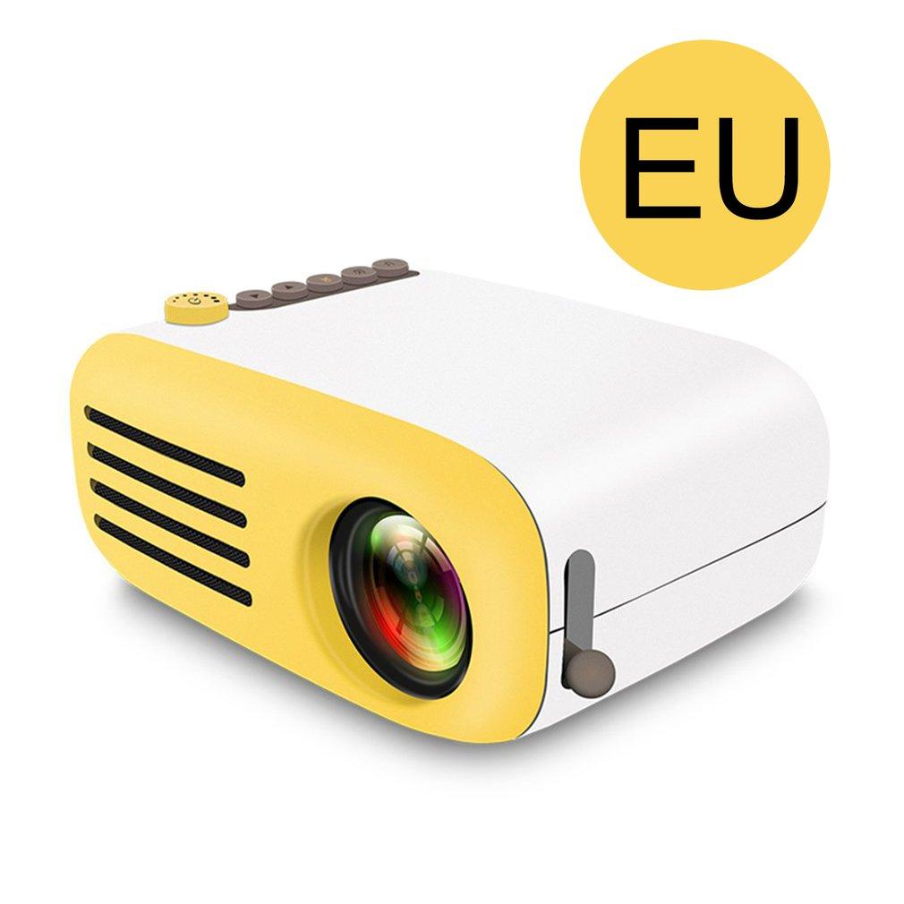 YG200 Portable LED poche Mini projecteur AV USB SD HDMI vidéo film jeu Home cinéma vidéo projecteur en option batterie