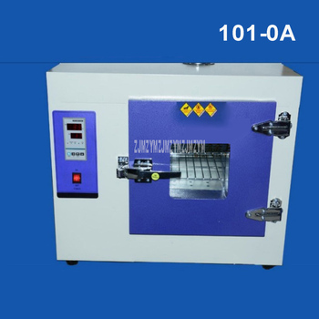101-0A 0.8-1.6KW Digital Electric Constant Temperature Drying Oven Industrial Medicine Blower Drying Oven Inner Galvanized Steel