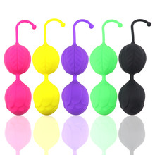4 Color Safe Silicone Kegel Ball Tighten Exercise Vaginal Chinese Balls G-spot Vibrator Sex Toys For Women Adult Erotic Sex Shop(China)