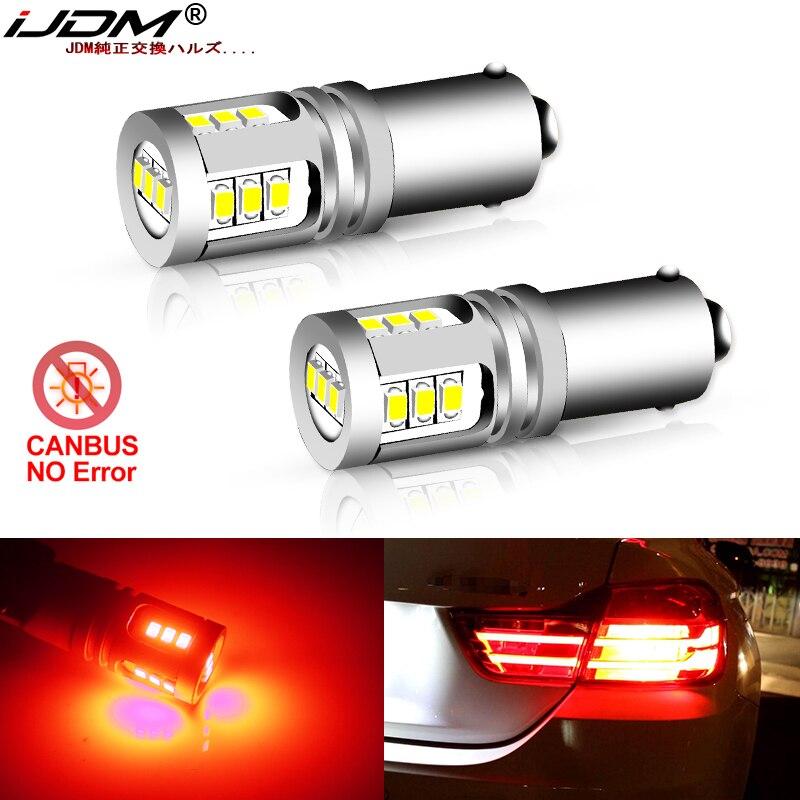 IJDM Авто блестящие красные 12В H21W BAY9s светодиодный лампы для BMW 2014-2017 F32/F33/F82 4 серии стоп-сигналов