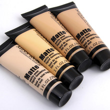 Professional ฐาน Matte Liquid Foundation Makeup Face CONCEALER เครื่องสำอางค์ซ่อม Make Up