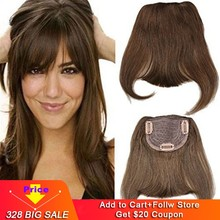 Eseewigs 4B 4C Afro Kinky krullend Human Hair paardenstaart Voor Black Women Natural Color Remy Hair 1 Stuk Clip In Drawstring Paardenstaarten(China)