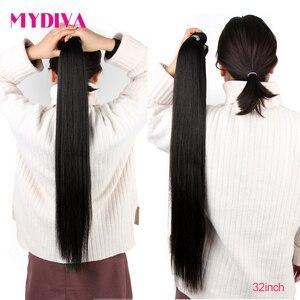 Бразильские волосы, пряди, прямые человеческие волосы, 30 32 дюйма, пряди, не Реми, волосы для наращивания, оптовая продажа, 10 пряди, Dales
