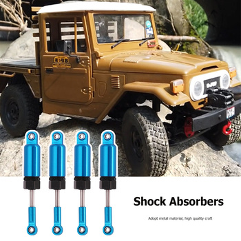 1 Pair Metal Shock Absorbers Interactive Present Children Portable for 1/16 RC WPL C-14 C-24 Car Upgrade Modified Part