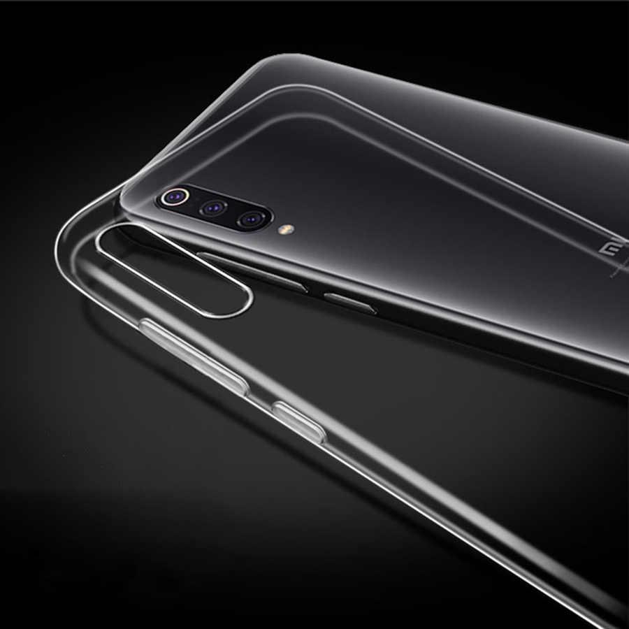 Funda transparente TPU suave para Xiaomi mi 9T 9 8 SE Pocophone F1 A2 Lite Max 3 A1 funda de silicona para Xiaomi Red mi Note 8 7 6 Pro