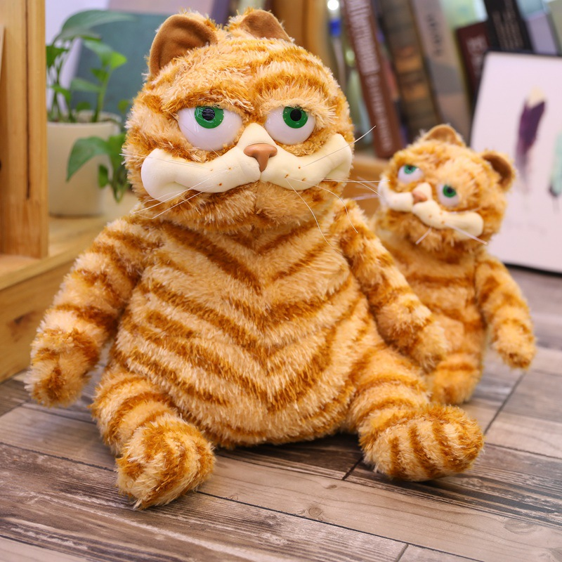 GARFIELD 2 MOVIE PLUSH SOFT TOY GIFT CAT SITTING