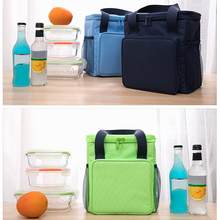 Heat-insulation Lunch-box Bag Waterproof Large-capacity Heat-insulation Bag, And Outdoor Picnic Bag(China)